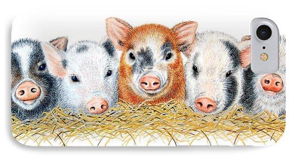 Five Little Pigs IPhone Case