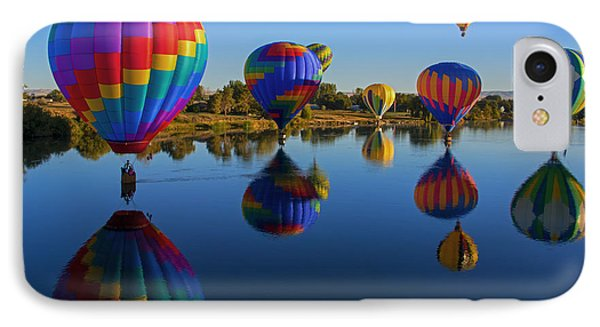 Five On The Water IPhone Case by Mike Dawson
