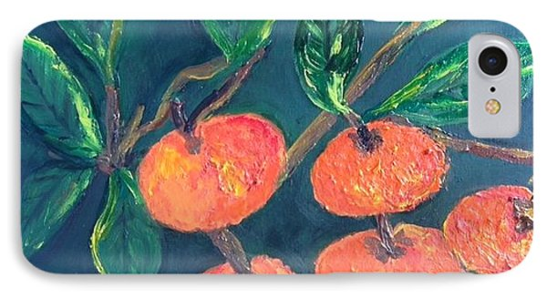 Five Tangerines IPhone Case