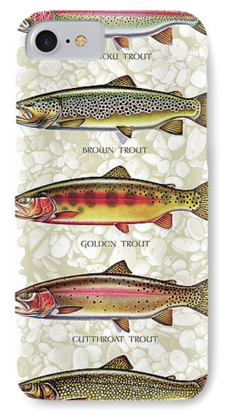 Five Trout Panel IPhone 7 Case by JQ Licensing