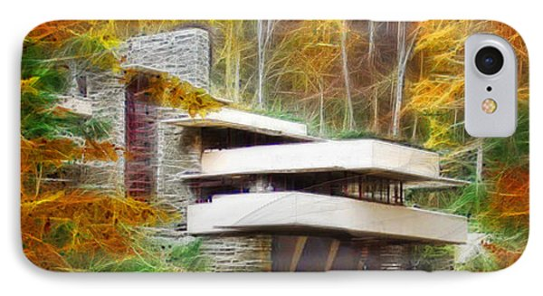 Fixer Upper - Frank Lloyd Wright's Fallingwater IPhone Case