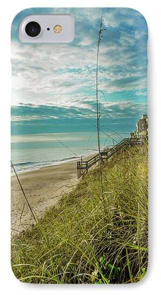 St Aug Beach IPhone Case