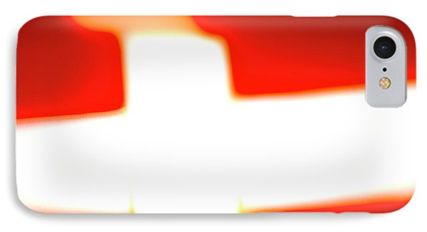 Flag Abstract II IPhone Case by Jan W Faul