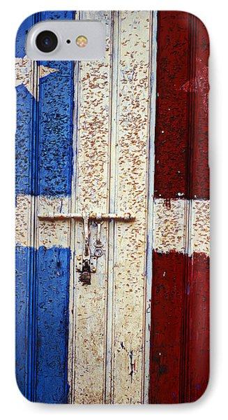 Flag Door Phone Case by Garry Gay