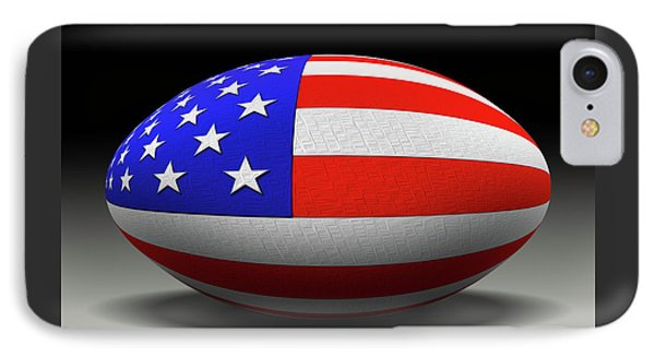Flag Football IPhone Case by Mike McGlothlen