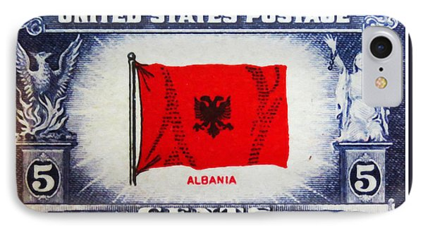 Flag Of Albania IPhone Case by Lanjee Chee