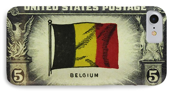 Flag Of Belgium IPhone Case by Lanjee Chee