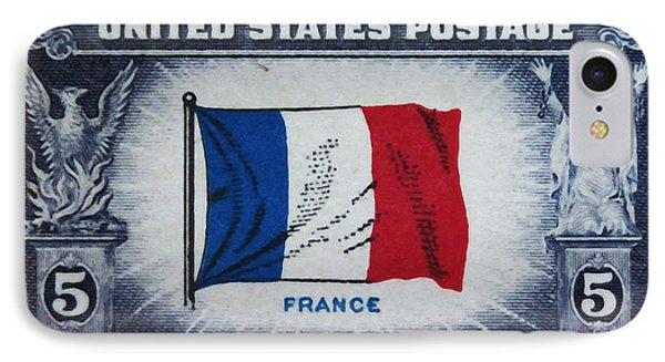 Flag Of France IPhone Case by Lanjee Chee