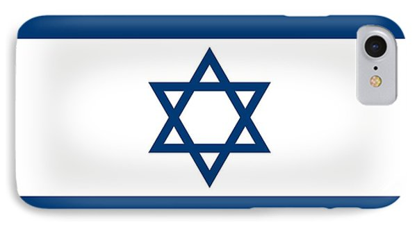 Flag Of Israel IPhone Case by Unknown