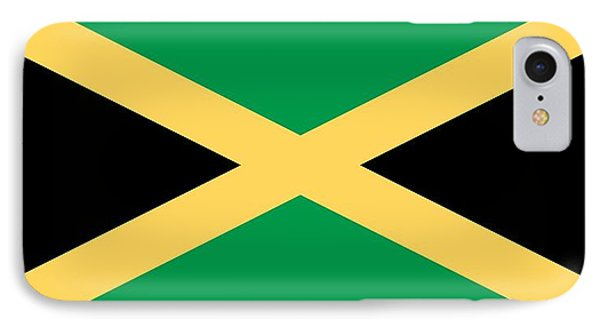 Flag Of Jamaica IPhone Case by Unknown