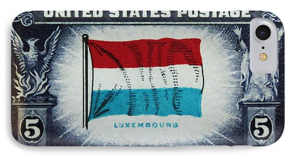 Flag Of Luxembourg IPhone Case by Lanjee Chee