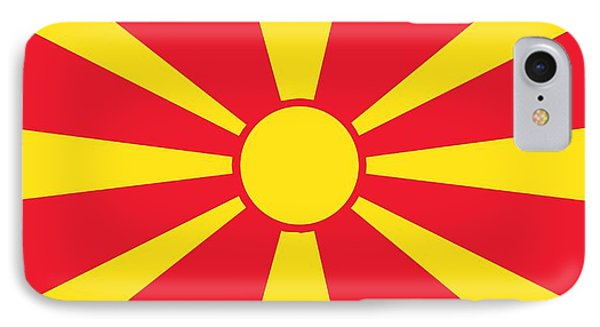 Flag Of Macedonia IPhone Case by Unknown