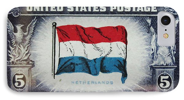 Flag Of Netherlands IPhone Case by Lanjee Chee
