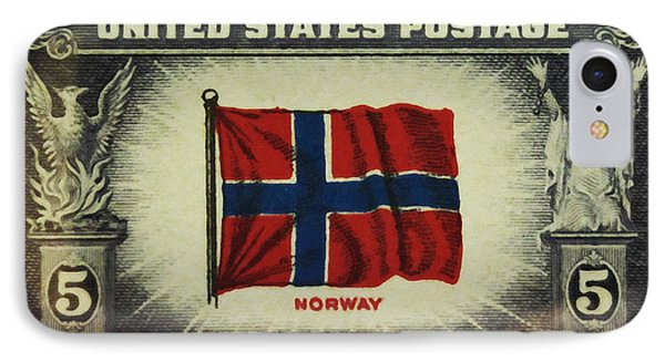 Flag Of Norway IPhone Case by Lanjee Chee