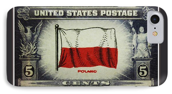 Flag Of Poland IPhone Case by Lanjee Chee