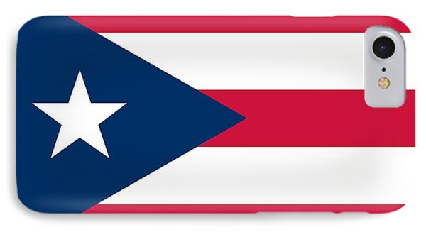 Flag Of Puerto Rico IPhone Case by Unknown