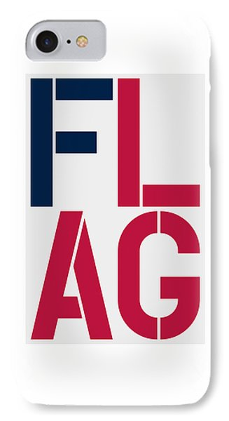 Flag IPhone Case by Three Dots