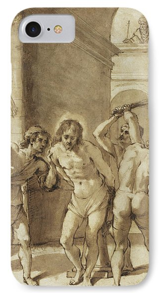 Flagellation Of Christ IPhone Case by Guercino