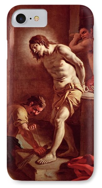 Flagellation Of Christ Phone Case by Pietro Bardellini