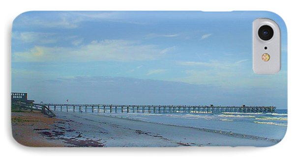 Flagler Morning IPhone Case by Cheryl Waugh Whitney