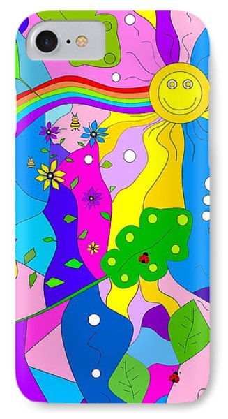 IPhone Case featuring the painting Flamboyant Lion by Kathleen Sartoris