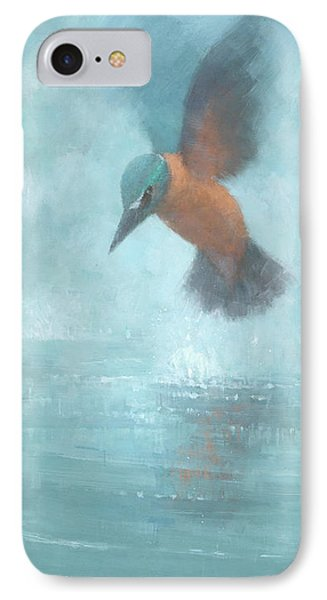 Flame In The Mist Phone Case by Steve Mitchell