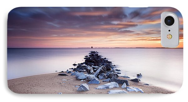 IPhone Case featuring the photograph Flame On The Horizon by Edward Kreis