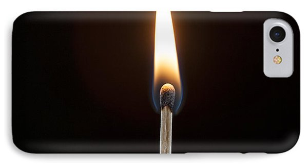 IPhone Case featuring the photograph Flame by Tyson and Kathy Smith