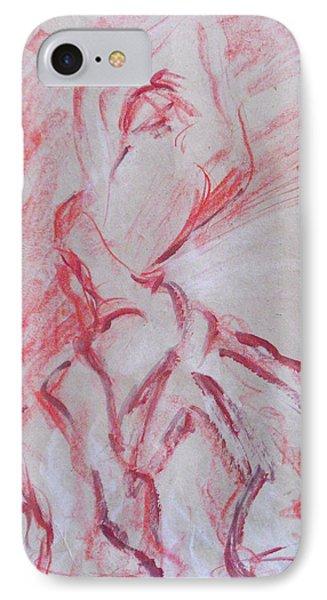 Flamenco Dancer 1 IPhone Case by Koro Arandia