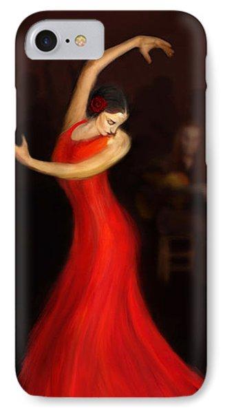 Flamenco Dancer IPhone Case by John Edwards