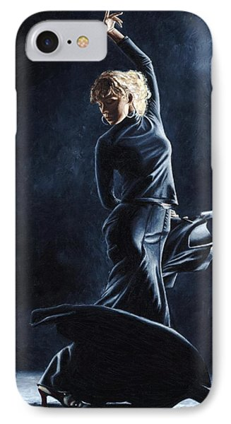 Flamenco Dexterity IPhone Case by Richard Young