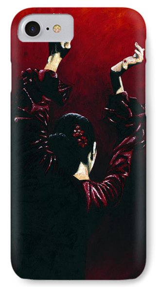 Flamenco Fire Phone Case by Richard Young