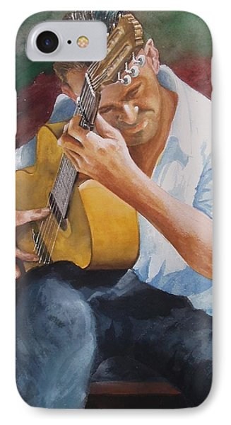 Flamenco Guitar Phone Case by Charles Hetenyi