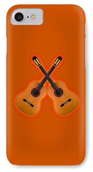 Flamenco  Guitar  Phone Case by Doron Mafdoos