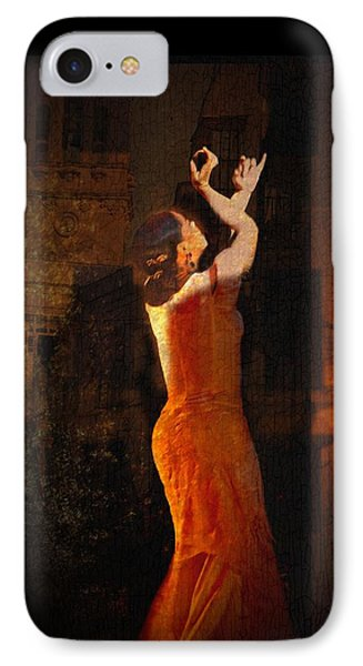 Flamenco In The Streets Phone Case by tim Kahane