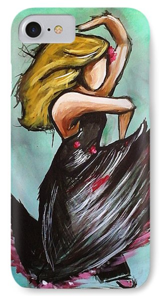 Flamenco IPhone Case by Loretta Nash