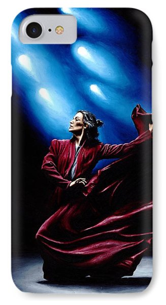 Flamenco Performance Phone Case by Richard Young
