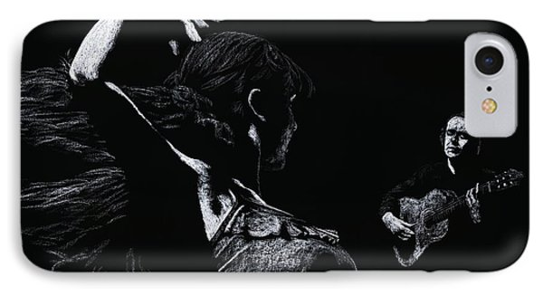 Flamenco Recital Phone Case by Richard Young
