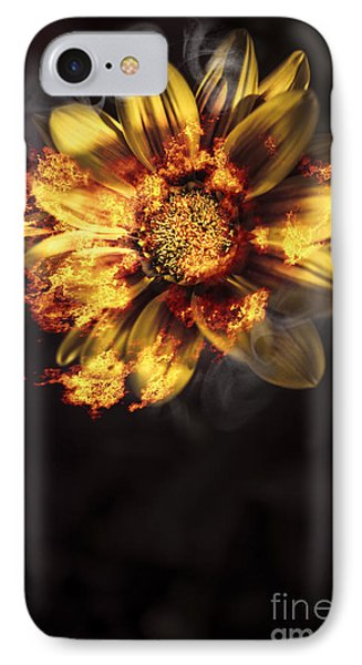 Flames Of Passion And Intimacy IPhone Case