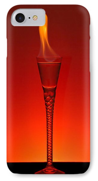 Flaming Hot IPhone Case by Gert Lavsen