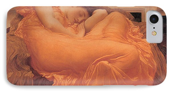 Flaming June - 1895 Phone Case by Lord Frederic Leighton