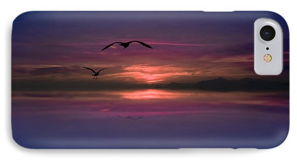 Flaming Sky  IPhone Case