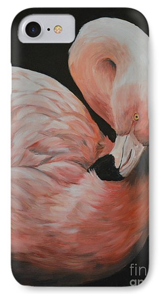 Flamingo Phone Case by Charlotte Yealey