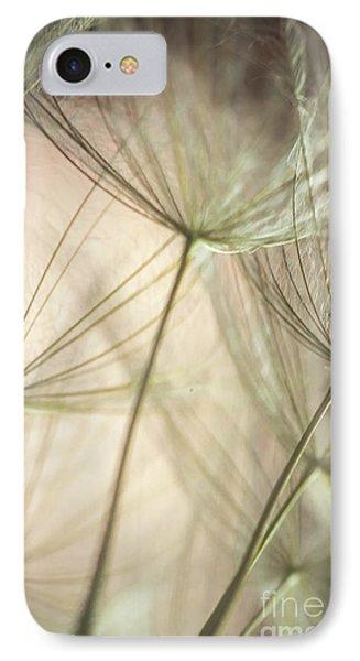 Flamingo Dandelions Phone Case by Iris Greenwell
