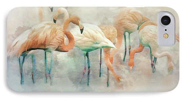 Flamingo Fantasy IPhone Case by Brian Tarr