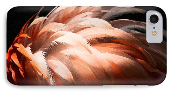 Flamingo Feathers Phone Case by Sabrina L Ryan