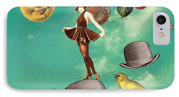 Flapper IPhone Case by Olga Snell