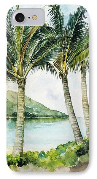 Flapping Palm Trees IPhone Case