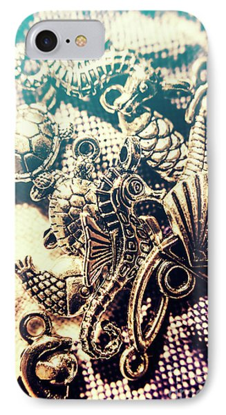 Seahorse iPhone 7 Case - Flares Of Nautical Beauty by Jorgo Photography - Wall Art Gallery