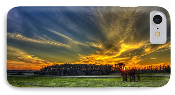 Flash The Iron Horse Sunset IPhone Case